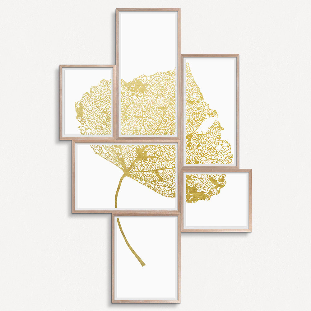 Leaf Grouping - Gold