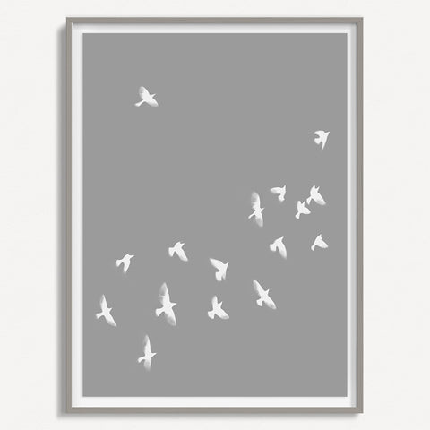 Smokey Bird 2 - Grey - Large