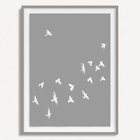 Smokey Bird 2 - Grey - Small