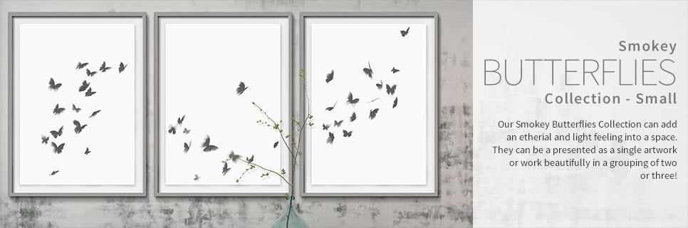 Smokey Butterflies Collection - Small