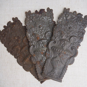 Pretty Antique Decorative Edwardian Plaque
