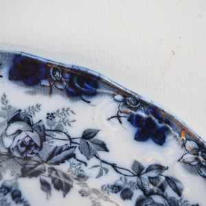 Decorative Blue and White Plate