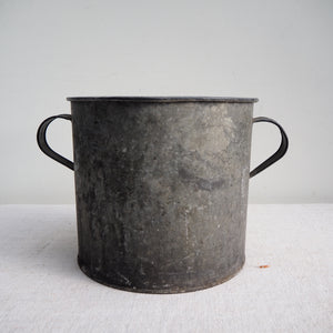 Galvanised Planter - Small