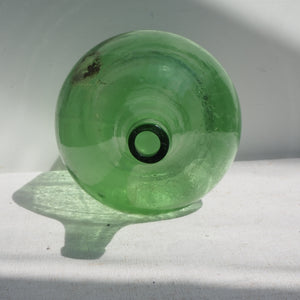 Light-Green Glass Vintage Carboy (no.2)