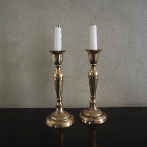 Pair of decorative Brass Candlesticks