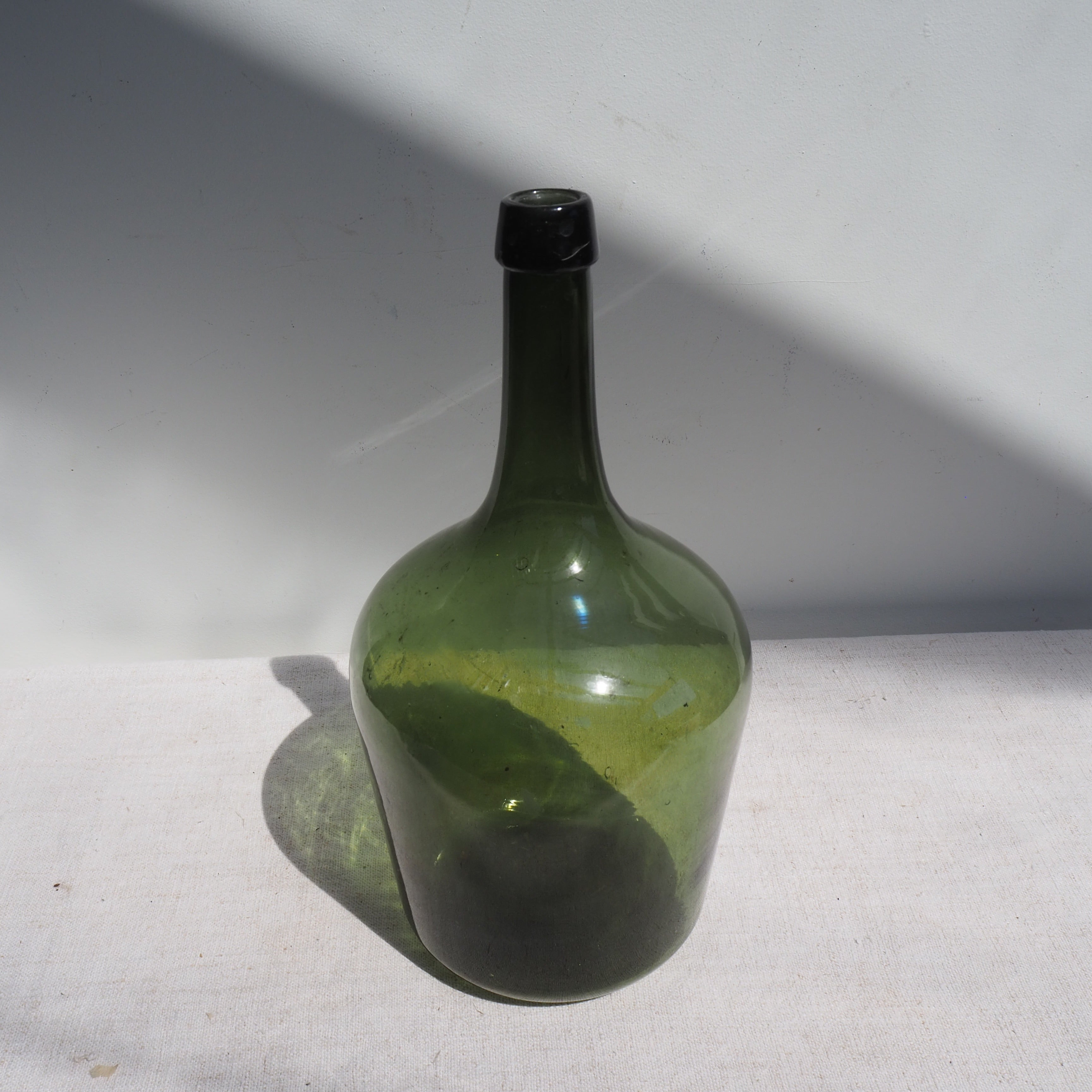 Dark-Green Glass Carboy (no.7 & 8)