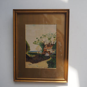 Midcentury Watercolour