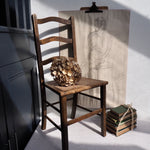 Load image into Gallery viewer, Vintage High Backed Cane Chair