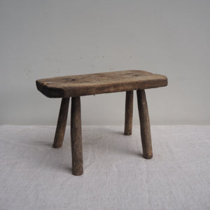 Rustic Hungarian Milking Stool