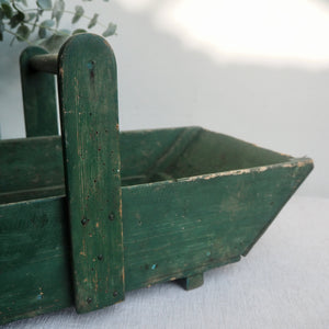 Rustic Painted Trug