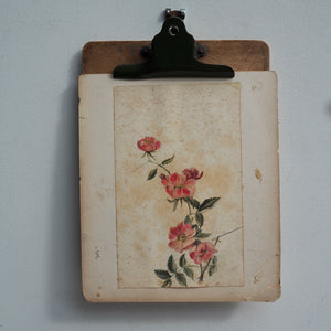 Edwardian Floral Watercolour