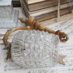 Decorative Cut Glass Light Fitting