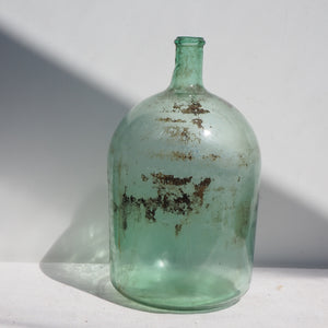 Large Light-Green Vintage Carboy (no. 1)