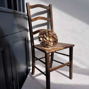 Vintage High Backed Cane Chair
