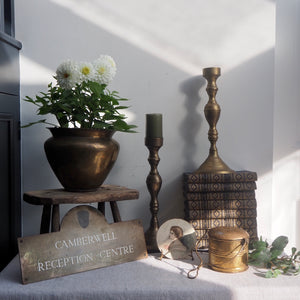 Large Metal/Brass Candlestick