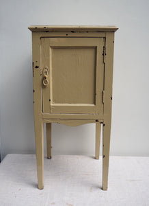 Chippy Painted Pot Cupboard