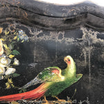 Load image into Gallery viewer, Over-sized 19th Century Papier Mache Tray - Parrots