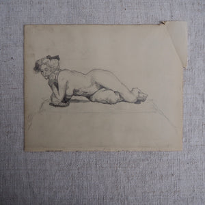 Antique Pencil Drawing