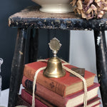 Load image into Gallery viewer, Small Edwardian Antique Brass Bell