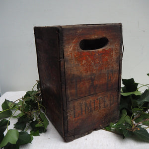 "Rustic ""Corona"" Bottle Box"