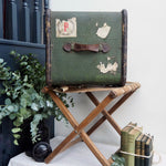 Load image into Gallery viewer, Vintage Luggage Folding Rack