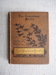 "Vintage Book. ""The Canterbury Poets"" Cowper"