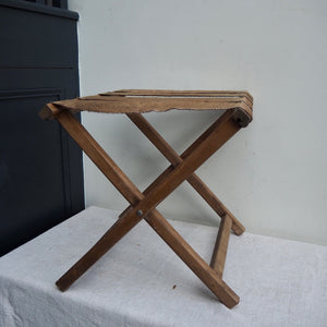 Vintage Luggage Folding Rack
