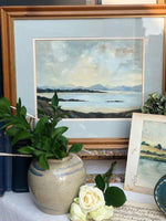 Load image into Gallery viewer, Mid-Century Watercolour - Seascape