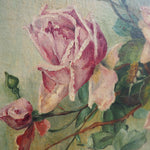 Load image into Gallery viewer, French Floral Oil on Canvas signed and dated 1900