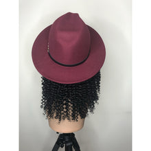 Load image into Gallery viewer, Fedora Wig-Kinky Curly