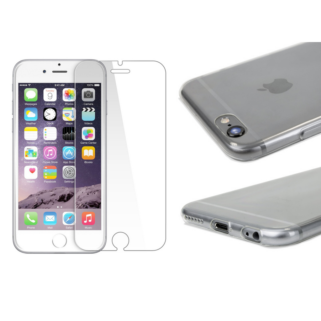 iPhone 6/6s Protection Pack (Case + Screen Protector) - Cellect Mobile