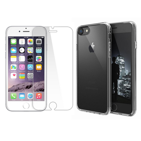 iPhone 8 Protection Pack (Case + Screen Protector) - Cellect Mobile