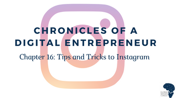 CHRONICLES OF A DIGITAL ENTREPRENEUR