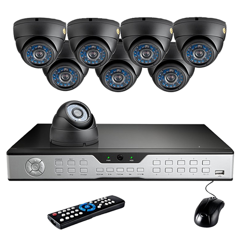 16CH H.264 Smart Security DVR System