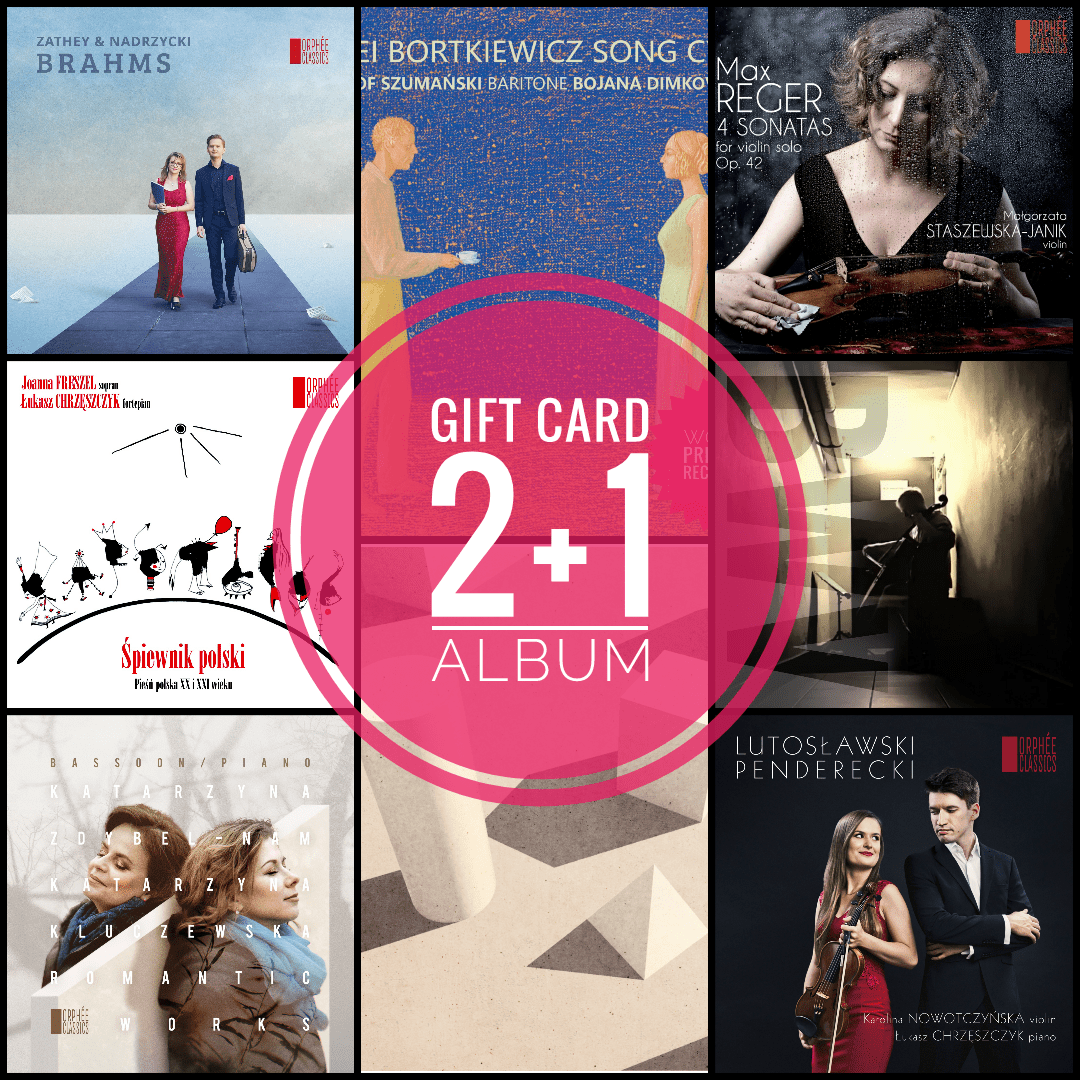 Gift Card 2+1 - Orphée Classics