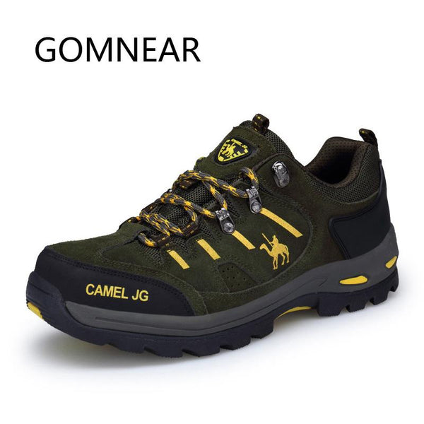GOMNEAR Men Women Winter Hiking Shoes Outdoor Sneakers Mountain Trekking Shoes Breathable Climbing Shoes Camping Hunting Boots - HuntPost Marketplace