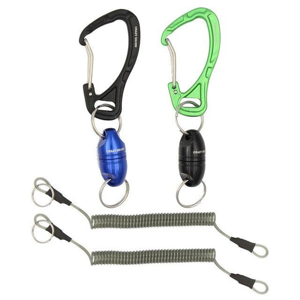 Crazy Shark Magnetic Net Release with Lanyard and Carabiner for Fly FishingMax Capacity 7lbs/3.5kg Fishing Tool Accessories - HuntPost Marketplace