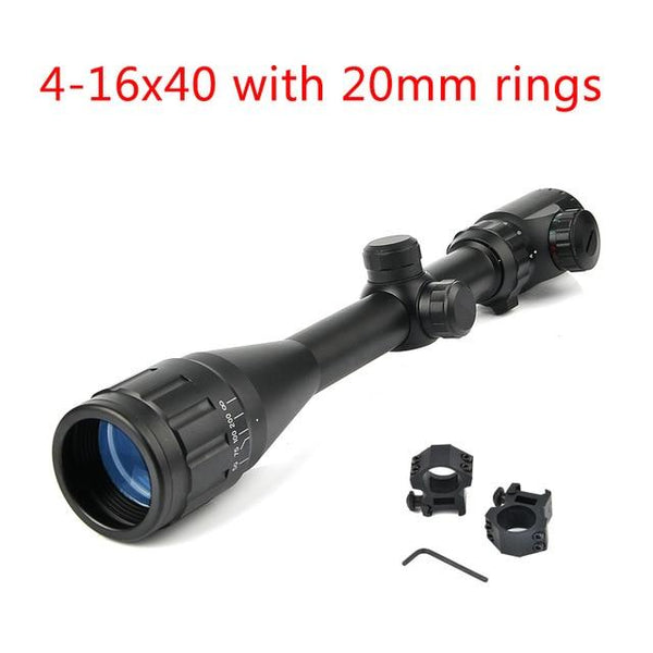 Bestsight 3-9x40 Hunting Scopes 4-16x40 Optics Rifle Scopes 6-24x50 Tactical Riflescope Airsoft Air Guns Sniper Rifle Scope - HuntPost Marketplace