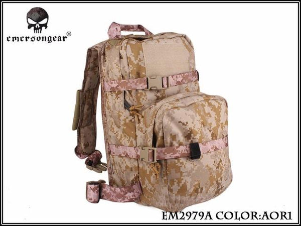 Emersongear LBT2649B Hydration Carrier For 1961AR ONLY molle backpack military tactical gear EM2979 Multicam Black AOR - HuntPost Marketplace