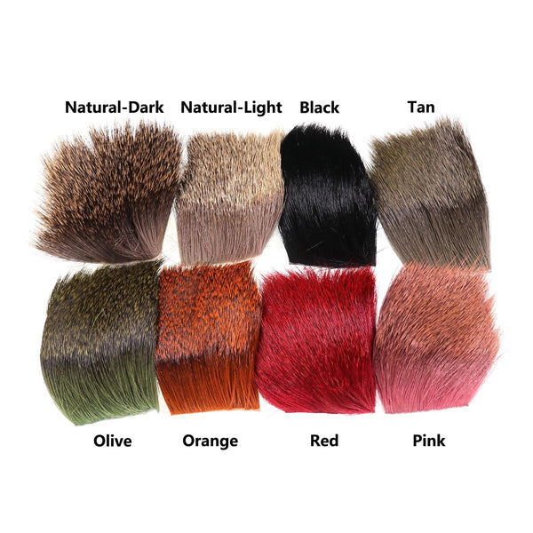 ICERIO 1 Piece Natural Deer Hair Patch Dry Flies Hopper Caddis Wings and Bodies Spinning Bass Bugs Fly Tying Materials - HuntPost Marketplace