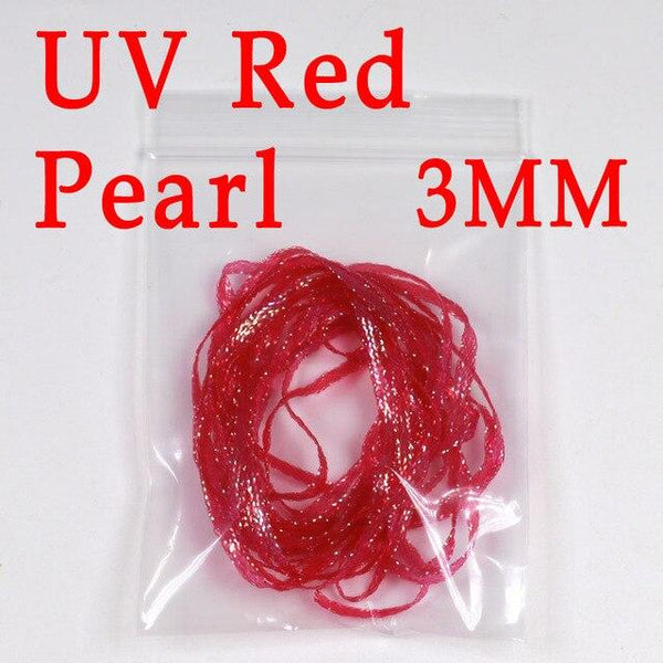 3mm 2yards/bag Saltwater Fly Tying Material UV Flur ocent Flat Diamond Braid for Emergers Nymph Shrimp Scud Streamer Pike - HuntPost Marketplace