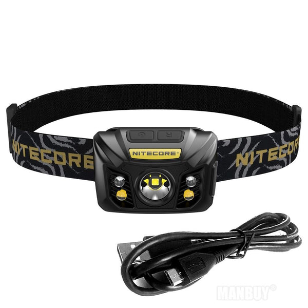 2020 NITECORE NU32 Headlamp 550 Lumens CREE XP-G3 S3 LED Built In Rechargeable Battery Light Outdoor Search BLACK Free Shipping - HuntPost Marketplace