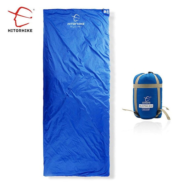Outdoor Splicing Sleeping Bag Ultra Light Adult Portable Camping Hiking Bags Sleeping Bags Spring Autumn lazy bag New arrival
