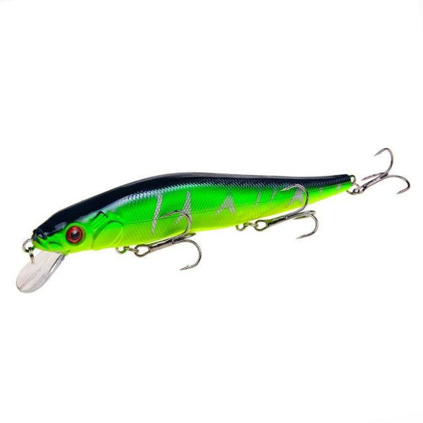 1 PCS/Lot 14 cm/ 23 g Minnow Fishing Lures Wobbler Hard Baits Crankbaits ABS Artificial Lure For Bass Pike Fishing Tackle - HuntPost Marketplace