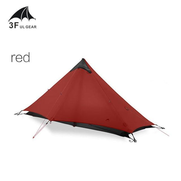 3F UL GEAR Lanshan 1 Tent Oudoor 1 Person Ultralight Camping Tent 3 Season Professional 15D Silnylon Rodless Tent - HuntPost Marketplace