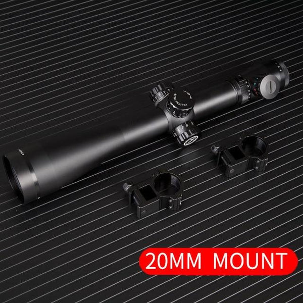 6-24x50 M3 riflescope Tactical Optical Rifle Scope Sniper Hunting Rifle Scopes Long Range Airsoft Rifle Scope - HuntPost Marketplace