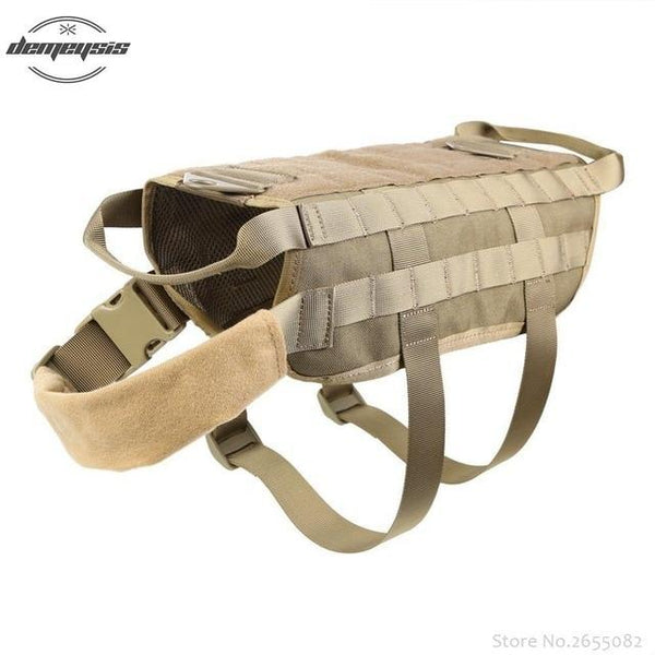 K9 Tactical Military 1000D Nylon Molle System Dog Training Dog Harness Hunting Dog Vest Clothes S-XL - HuntPost Marketplace