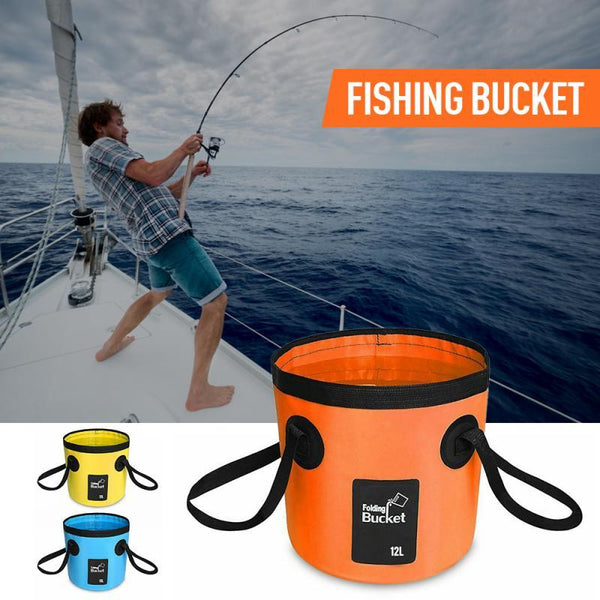 12L 20L Portable Waterproof Water Bag Folding Bucket Water Storage Container Carrier Bags For Fishing Camping Hiking accessories - HuntPost Marketplace
