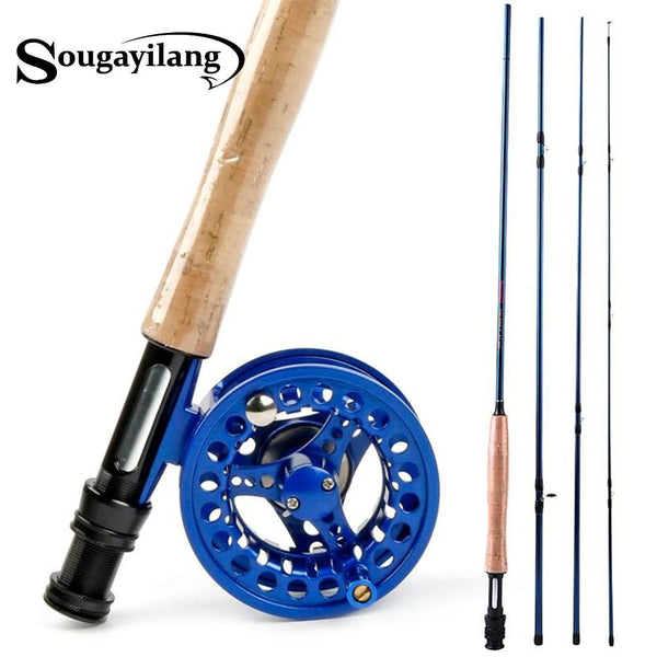 Sougayilang 2.7M/8.86ft Light Weight Ultra Portable Fly Fishing Rod And Reel Carbon Fly Fishing Rod and Fly Reel Combo Tackles - HuntPost Marketplace