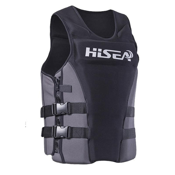 Neoprene Profession Life Vest Men Women Life Jacket Buoyancy Lifejacket Fishing Surfing Life Vest Swimming Floating Cloth - HuntPost Marketplace